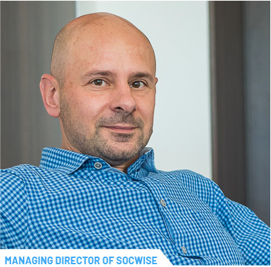 Balázs Imre CEO MAnaging Director of SOCWISE